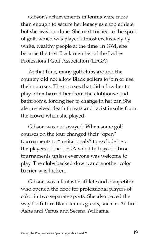 Book Preview For American Sports Legends Page 19