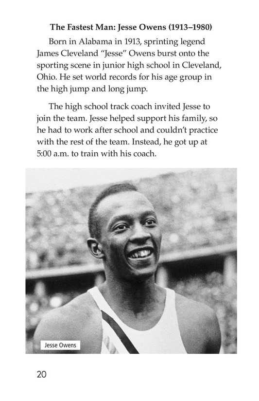 Book Preview For American Sports Legends Page 20
