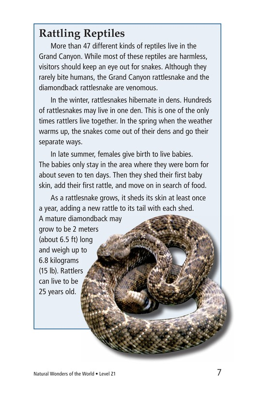Book Preview For Natural Wonders of the World Page 7