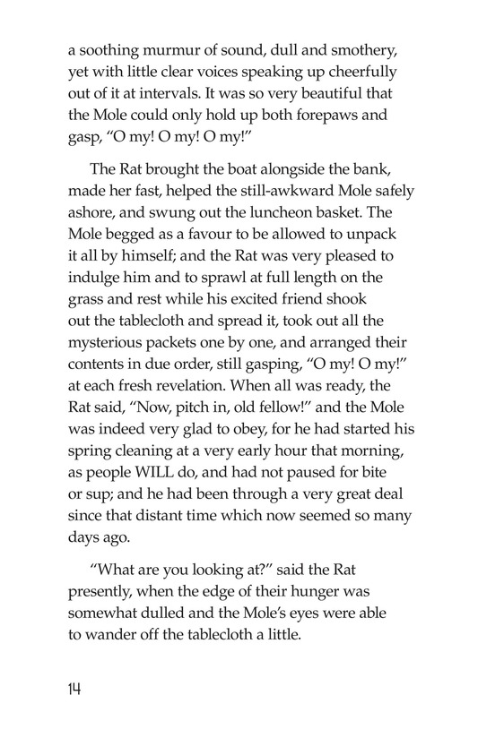 Book Preview For The Wind in the Willows (Part 1) Page 14