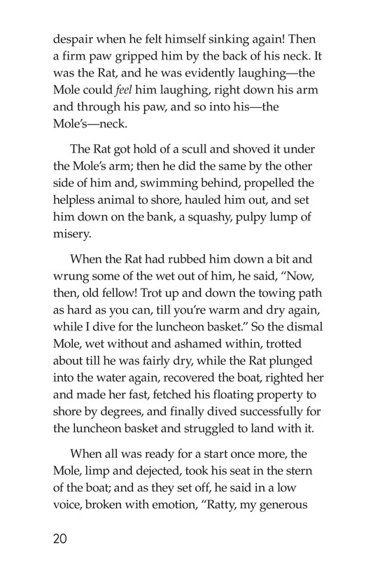 Book Preview For The Wind in the Willows (Part 1) Page 20