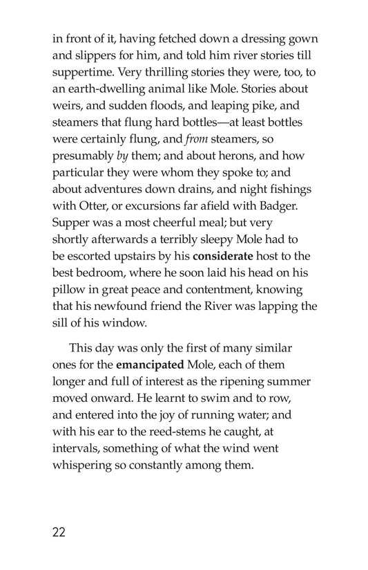 Book Preview For The Wind in the Willows (Part 1) Page 22