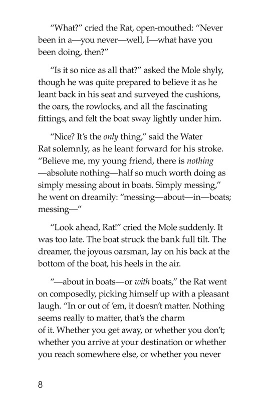 Book Preview For The Wind in the Willows (Part 1) Page 8