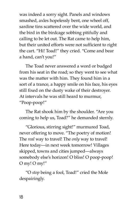 Book Preview For The Wind in the Willows (Part 2) Page 18