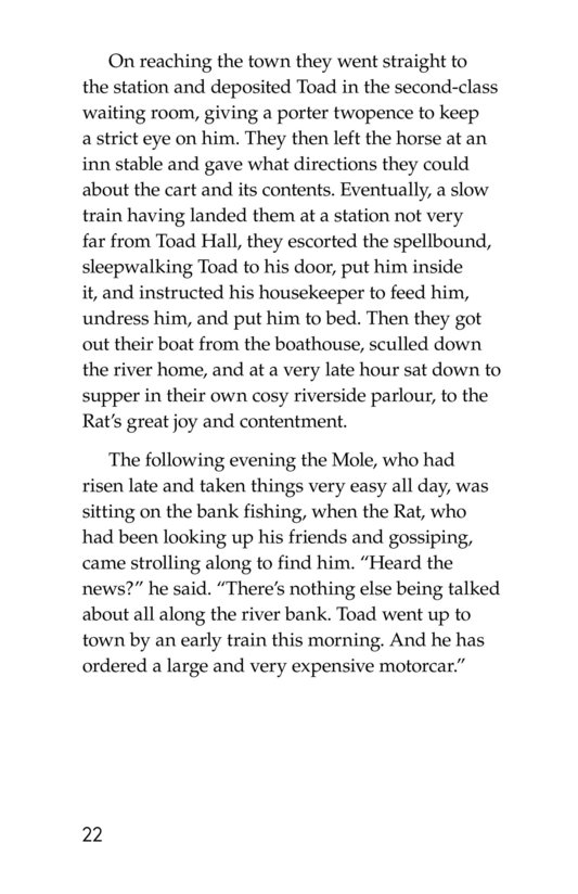 Book Preview For The Wind in the Willows (Part 2) Page 22