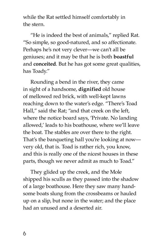 Book Preview For The Wind in the Willows (Part 2) Page 6