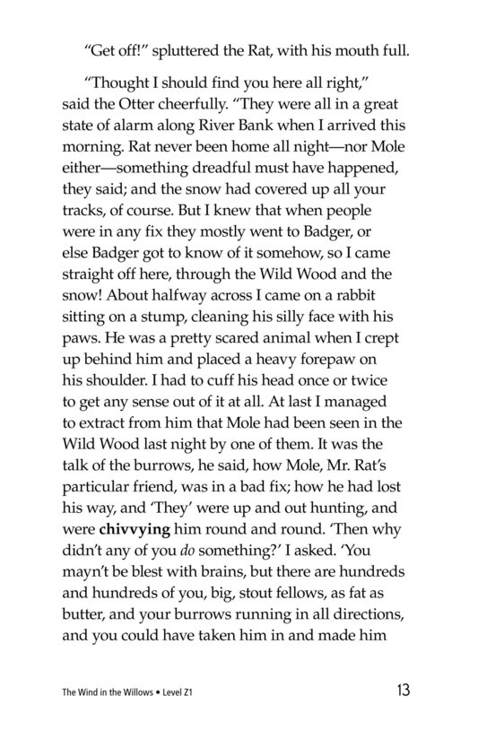 Book Preview For The Wind in the Willows (Part 4) Page 13