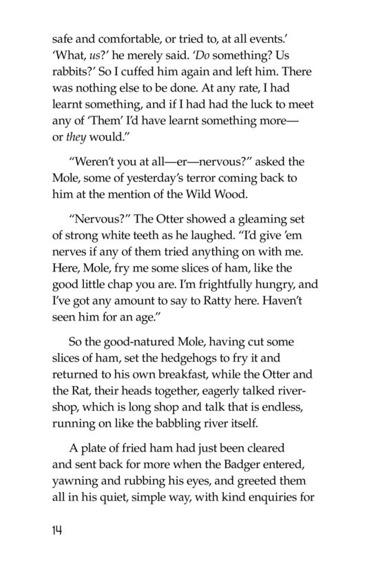 Book Preview For The Wind in the Willows (Part 4) Page 14