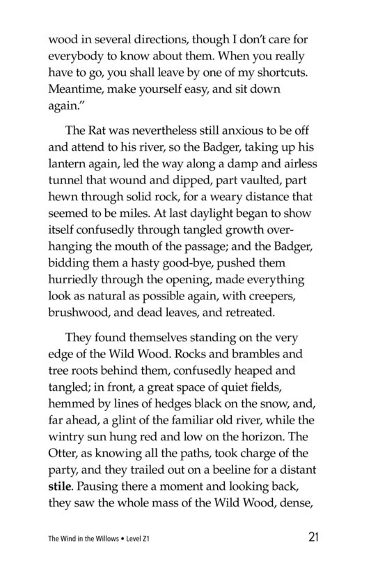 Book Preview For The Wind in the Willows (Part 4) Page 21
