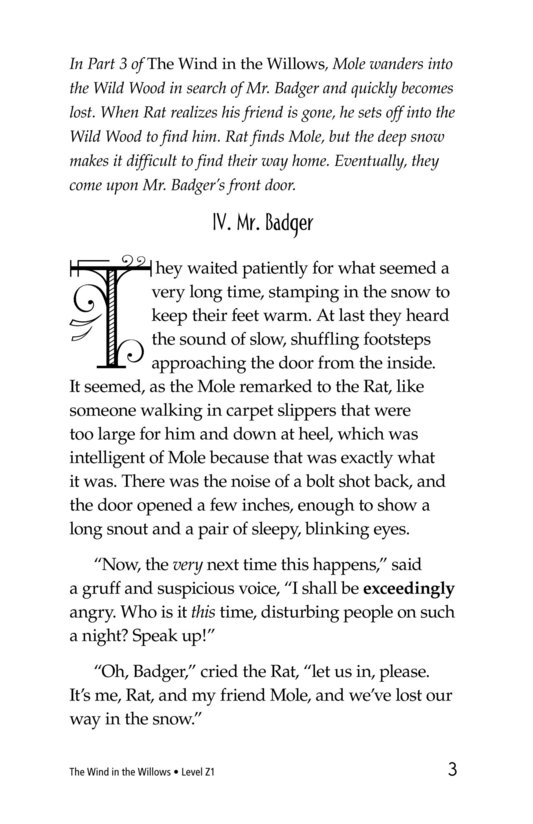 Book Preview For The Wind in the Willows (Part 4) Page 3
