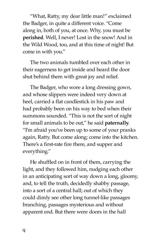 Book Preview For The Wind in the Willows (Part 4) Page 4