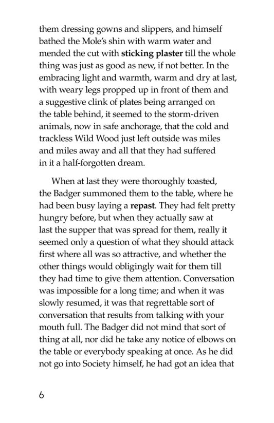 Book Preview For The Wind in the Willows (Part 4) Page 6