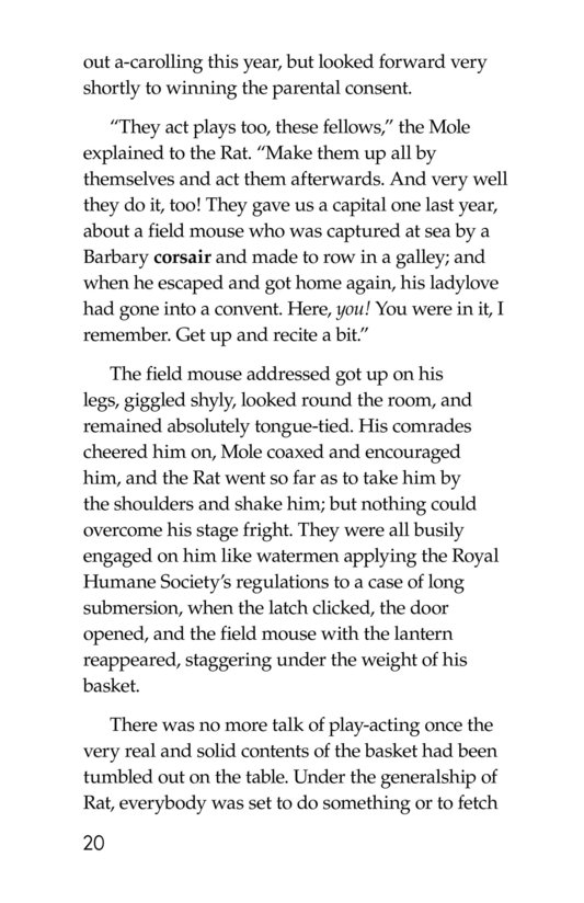 Book Preview For The Wind in the Willows (Part 5) Page 20