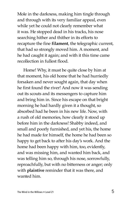 Book Preview For The Wind in the Willows (Part 5) Page 5