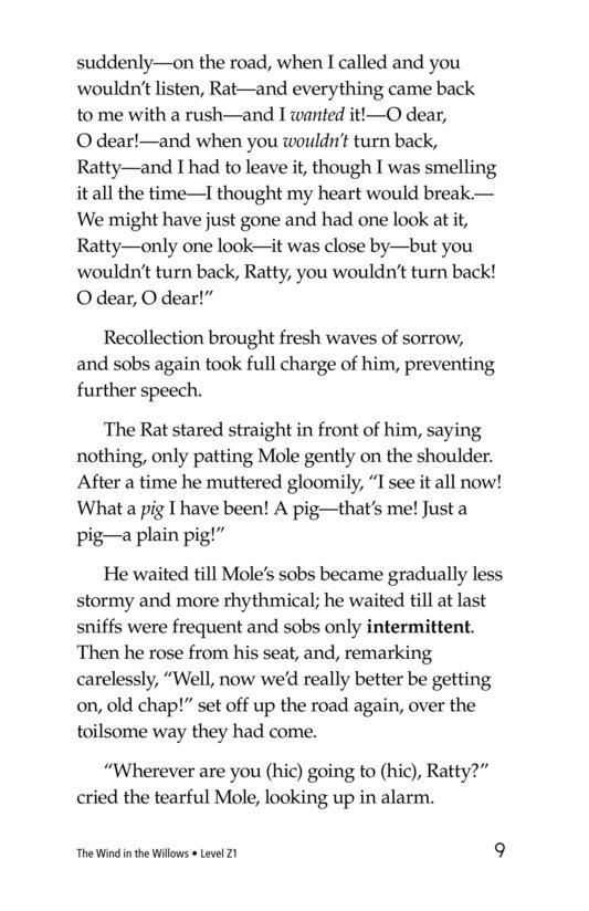 Book Preview For The Wind in the Willows (Part 5) Page 9