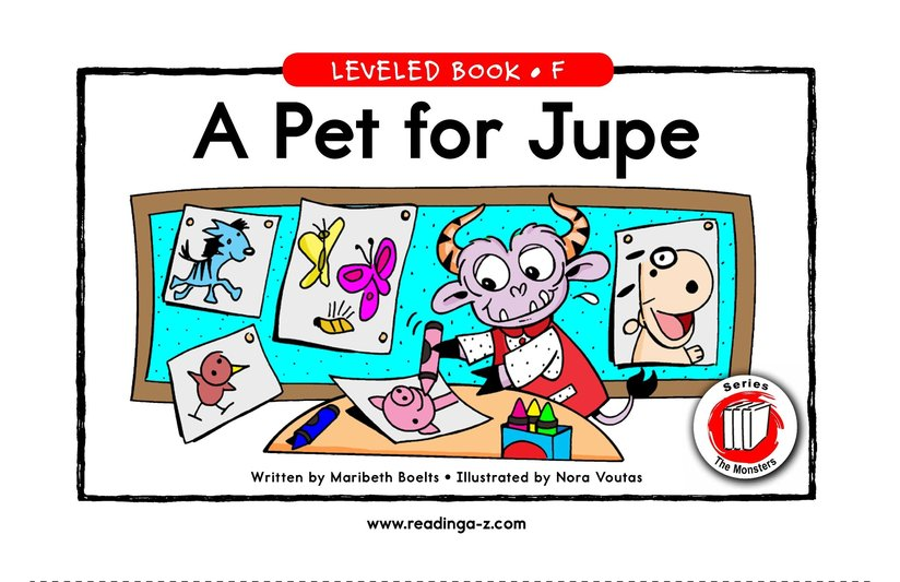 Book Preview For A Pet for Jupe Page 1