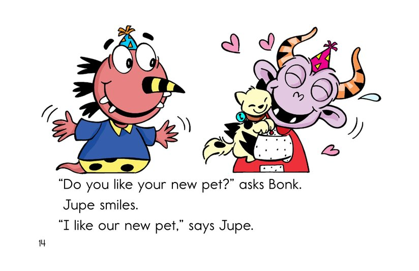 Book Preview For A Pet for Jupe Page 14