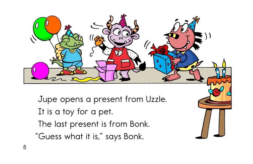 Book Preview For A Pet for Jupe Page 8