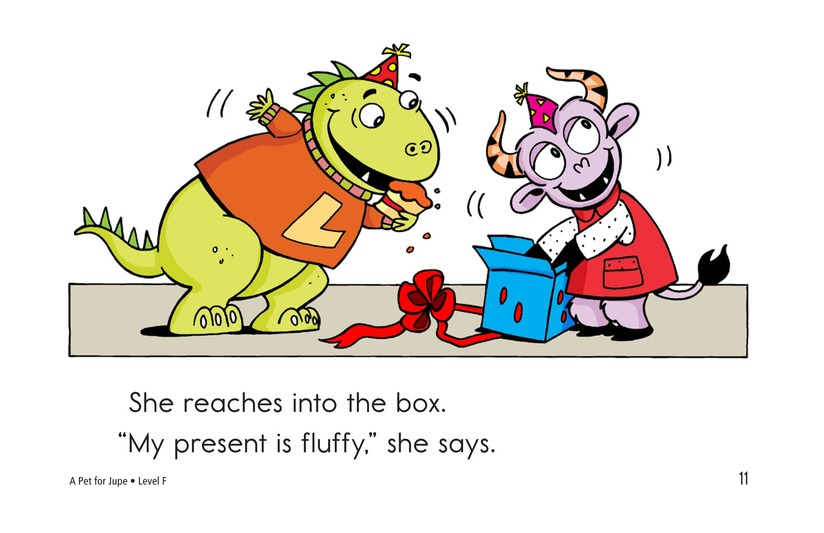 Book Preview For A Pet for Jupe Page 11