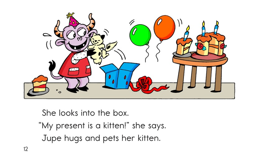 Book Preview For A Pet for Jupe Page 12