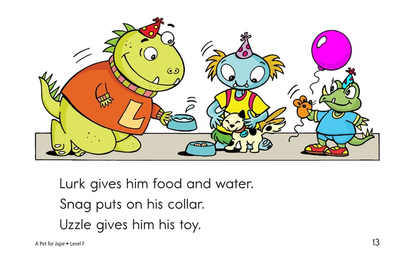 Book Preview For A Pet for Jupe Page 13