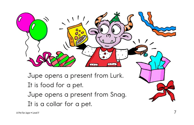 Book Preview For A Pet for Jupe Page 7