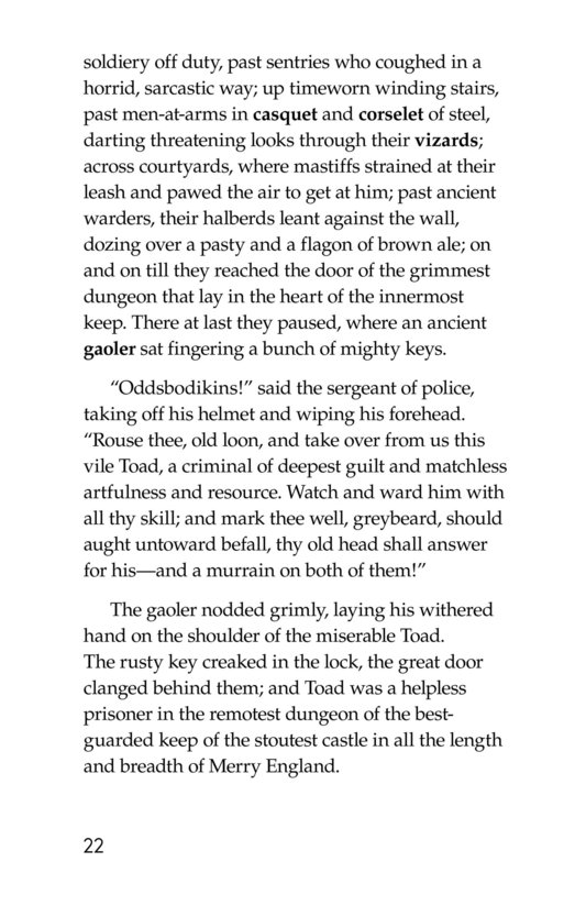 Book Preview For The Wind in the Willows (Part 6) Page 22