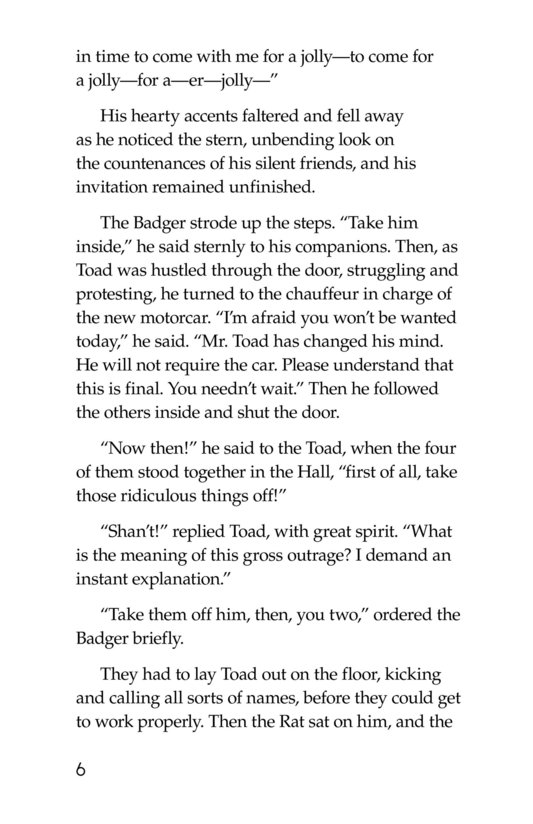 Book Preview For The Wind in the Willows (Part 6) Page 6