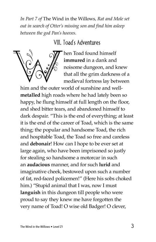 Book Preview For The Wind in the Willows (Part 8) Page 3