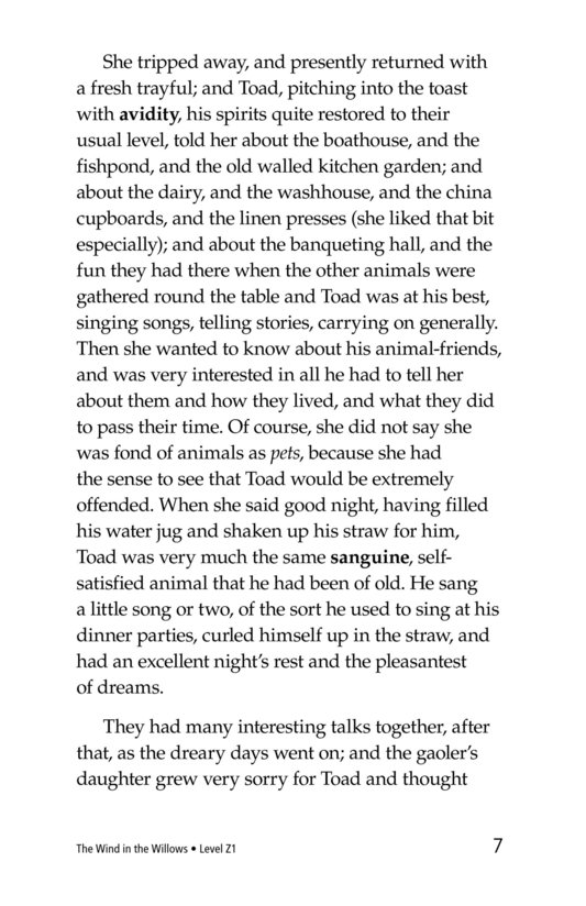 Book Preview For The Wind in the Willows (Part 8) Page 7