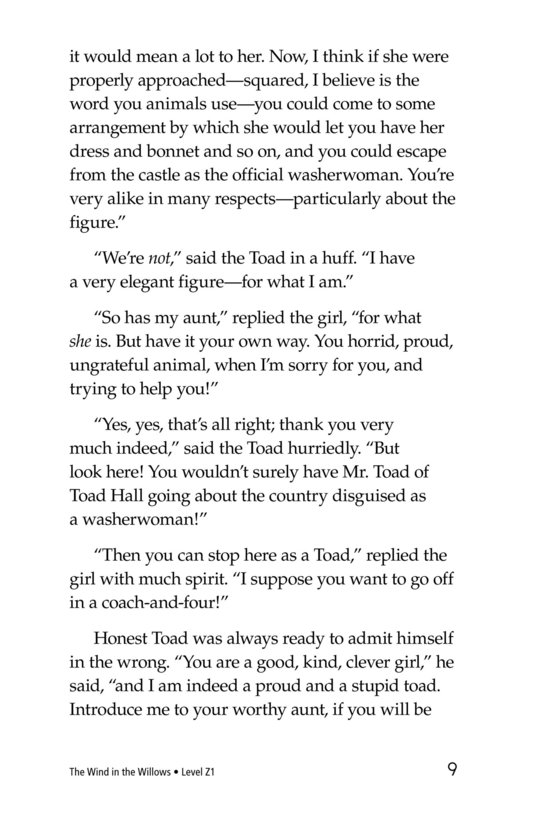 Book Preview For The Wind in the Willows (Part 8) Page 9