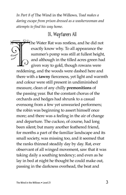 Book Preview For The Wind in the Willows (Part 9) Page 3