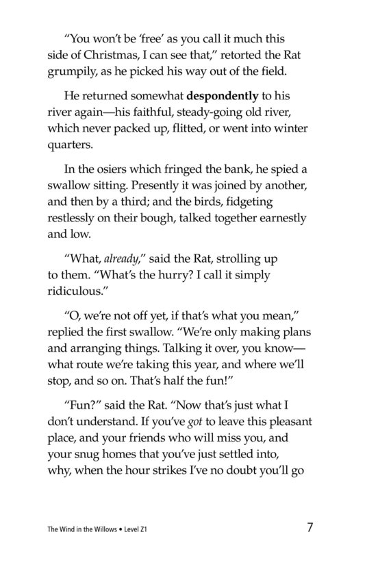 Book Preview For The Wind in the Willows (Part 9) Page 7