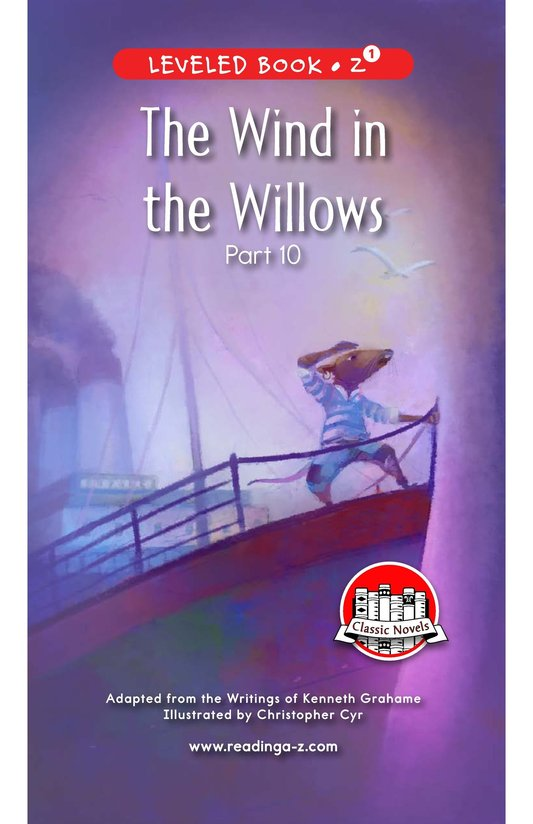 Book Preview For The Wind in the Willows (Part 10) Page 0