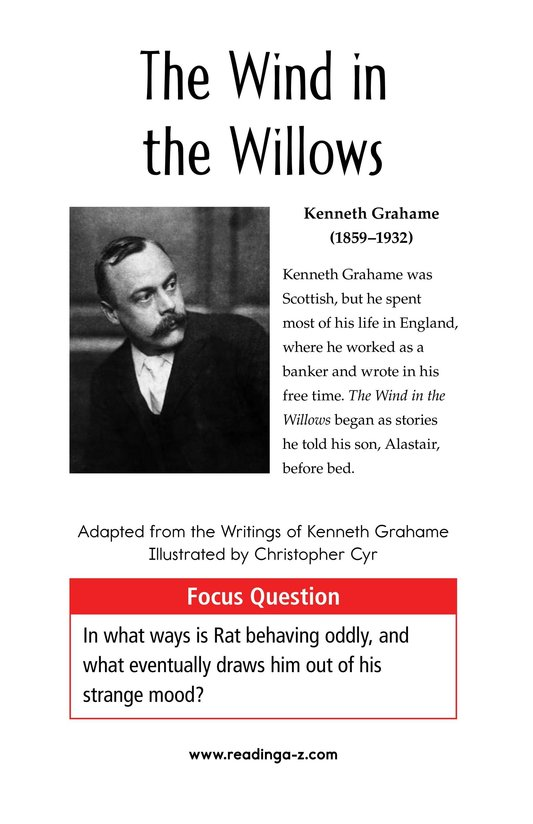 Book Preview For The Wind in the Willows (Part 10) Page 1