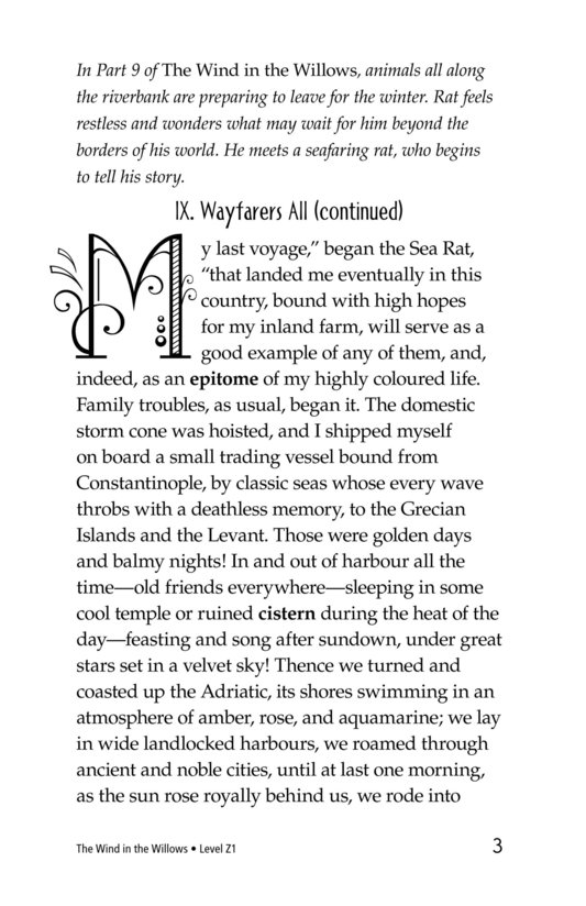 Book Preview For The Wind in the Willows (Part 10) Page 3