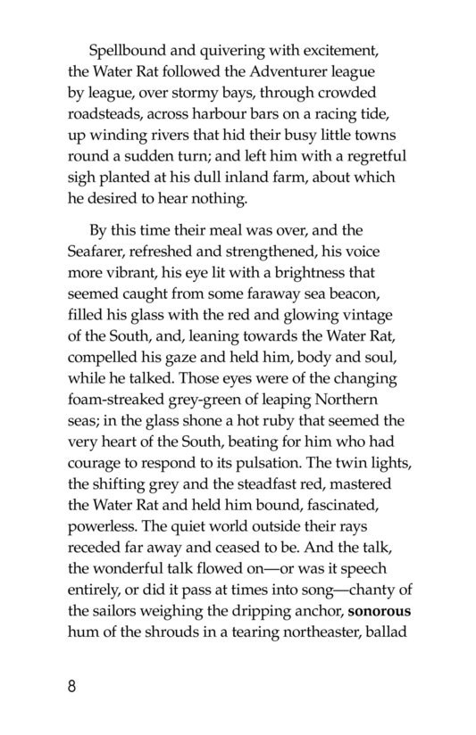 Book Preview For The Wind in the Willows (Part 10) Page 8