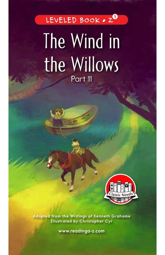 Book Preview For The Wind in the Willows (Part 11) Page 0