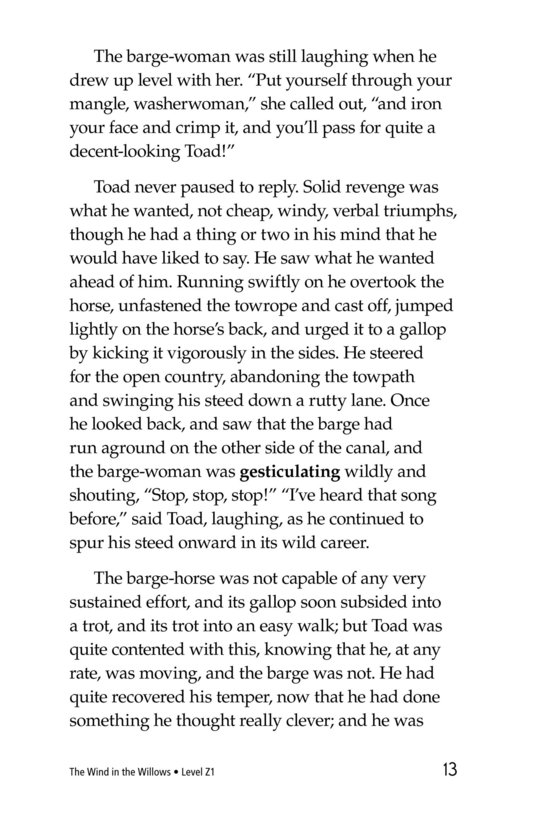Book Preview For The Wind in the Willows (Part 11) Page 13