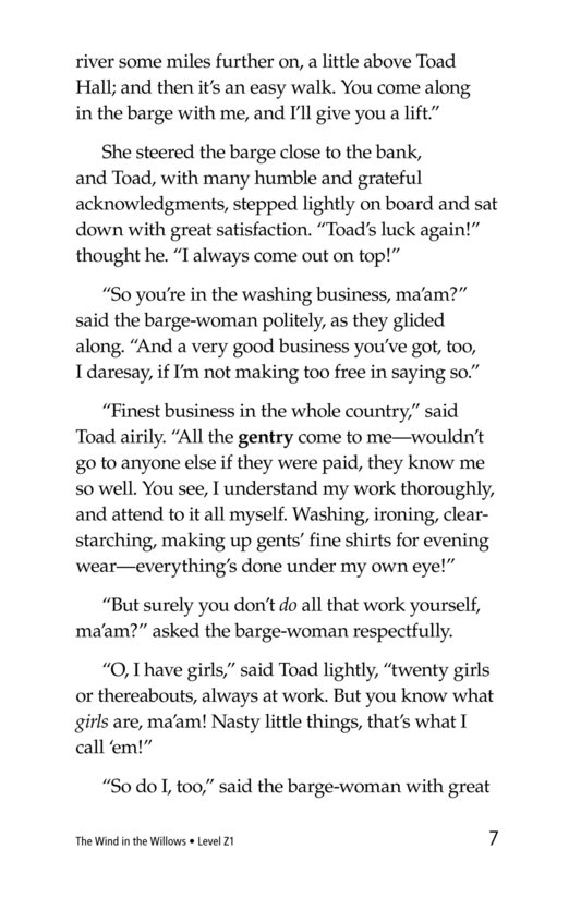 Book Preview For The Wind in the Willows (Part 11) Page 7