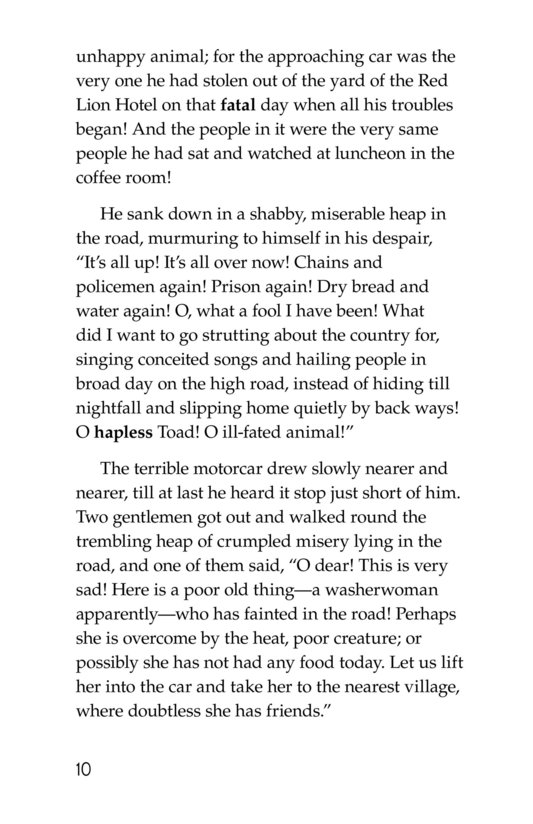 Book Preview For The Wind in the Willows (Part 12) Page 10