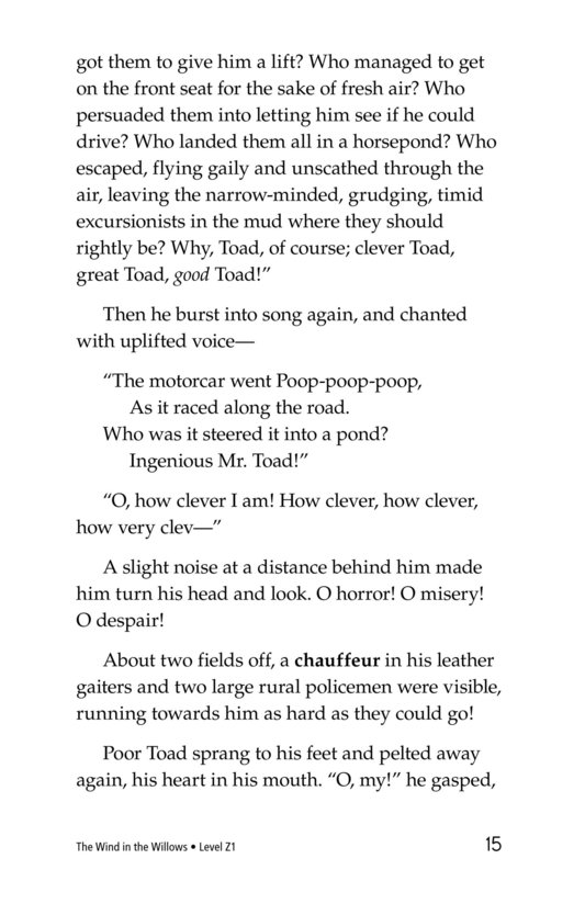 Book Preview For The Wind in the Willows (Part 12) Page 15