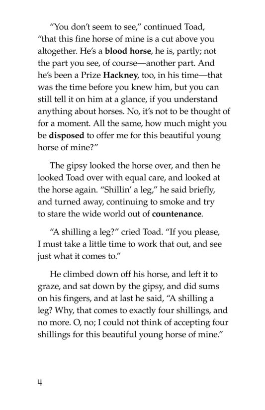 Book Preview For The Wind in the Willows (Part 12) Page 4