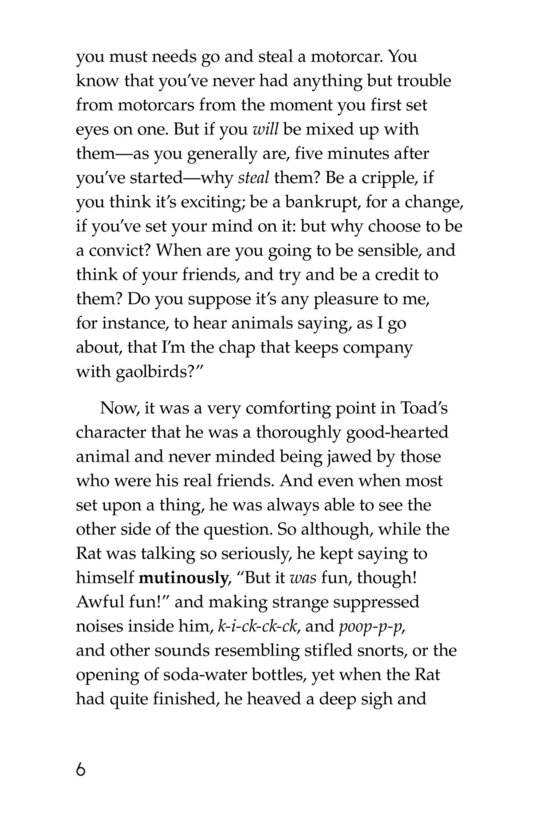 Book Preview For The Wind in the Willows (Part 13) Page 6