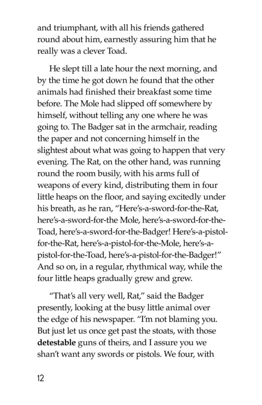 Book Preview For The Wind in the Willows (Part 14) Page 12