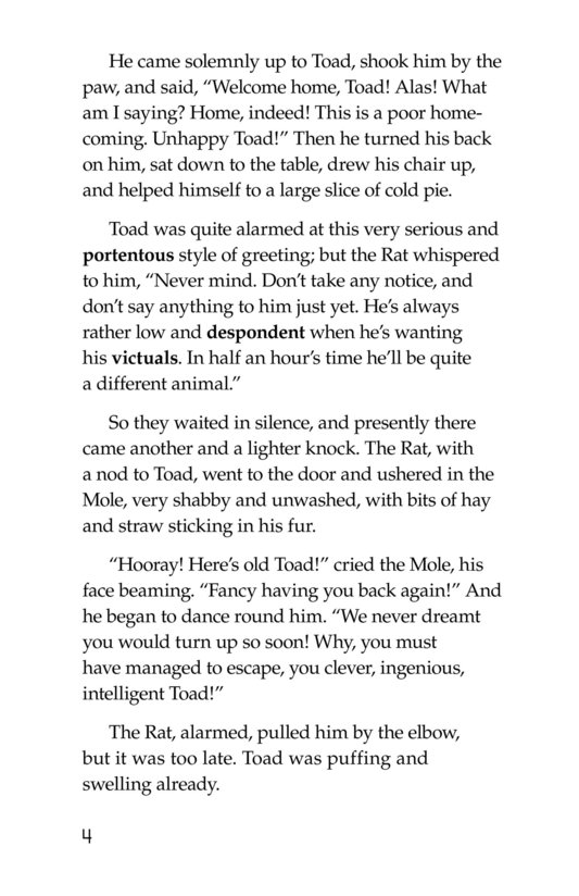 Book Preview For The Wind in the Willows (Part 14) Page 4