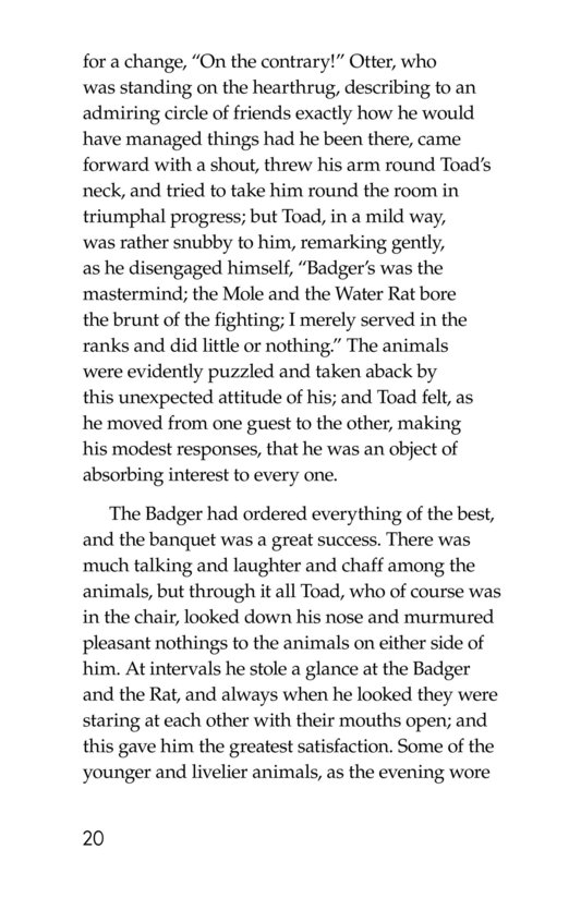 Book Preview For The Wind in the Willows (Part 15) Page 20