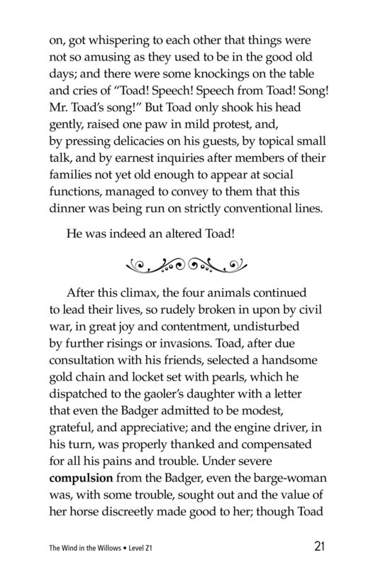 Book Preview For The Wind in the Willows (Part 15) Page 21