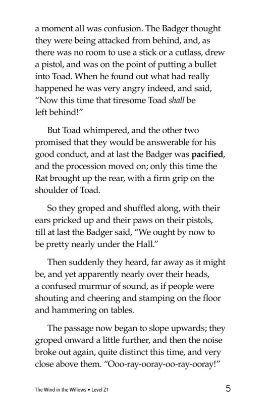 Book Preview For The Wind in the Willows (Part 15) Page 5