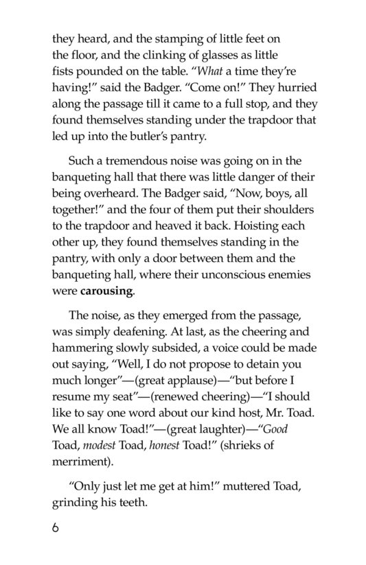 Book Preview For The Wind in the Willows (Part 15) Page 6